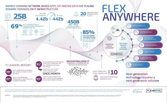 Flexanywhere Inforgraphic